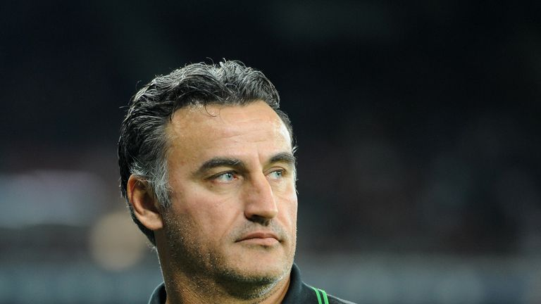 Christophe Galtier: St Etienne boss in hospital