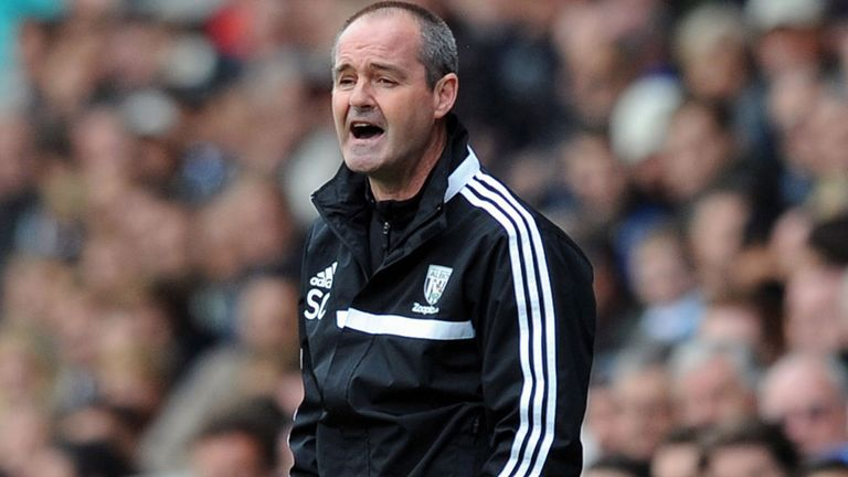 Steve Clarke: West Brom boss relieved by first goal of the season