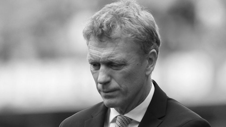 David Moyes: Dark clouds looming at Old Trafford