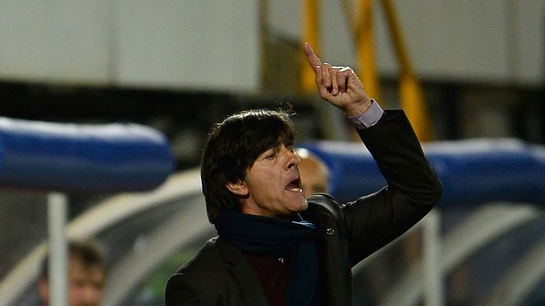 Joachim Low: Delighted with Germany's win over England