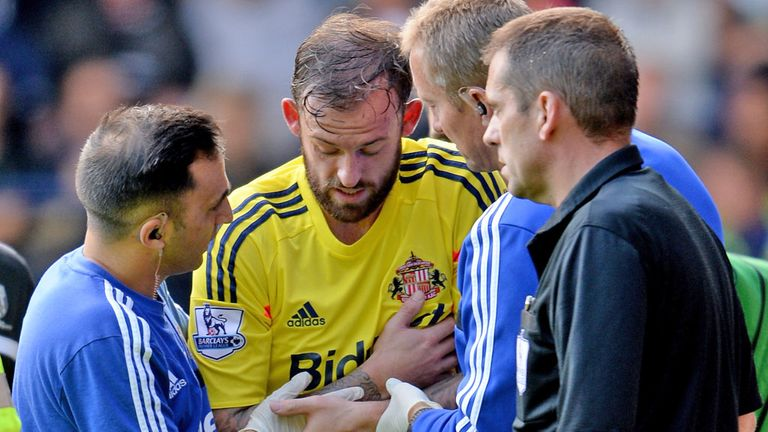 Steven Fletcher: Sunderland striker facing six weeks out