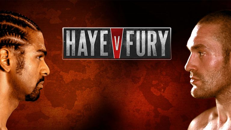 Tyson Fury and David Haye will fight in Manchester on February 8
