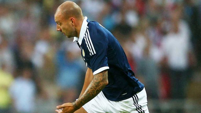 Alan Hutton: Scotland defender has only played for his country this season
