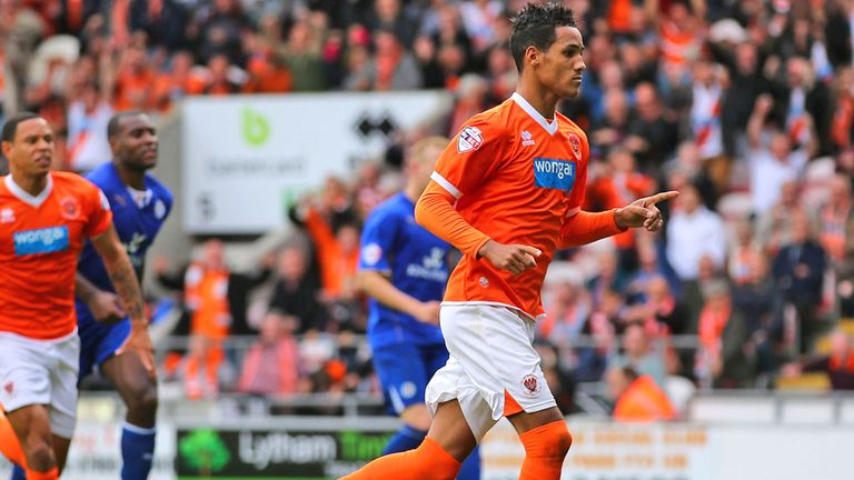 Tom Ince: Scored late penalty for Blackpool