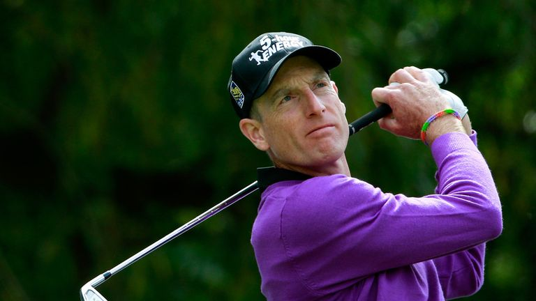 Jim Furyk: Happy to have a quiet Monday