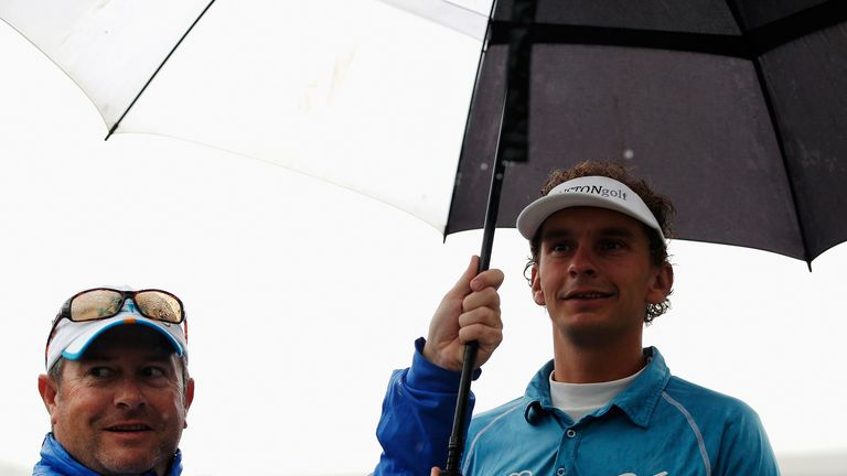 Joost Luiten: Defied rainy conditions to post a third round of 66