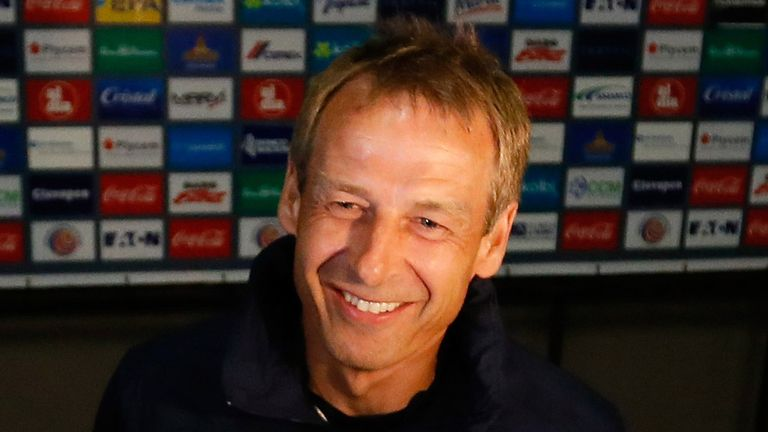 Jurgen Klinsmann: Refused to say if he is in the mix for the Switzerland job