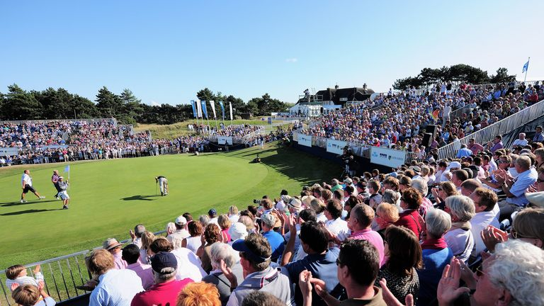 The 18th at Kennemer: Crowds will once again flock to the course in Zandvoort