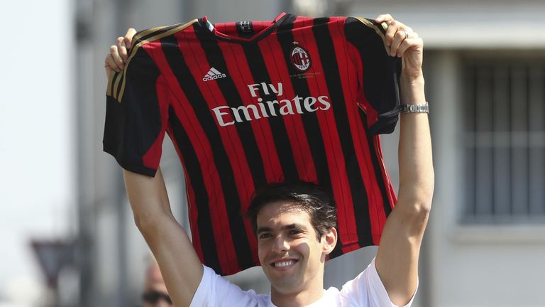 Kaka: Back with Milan
