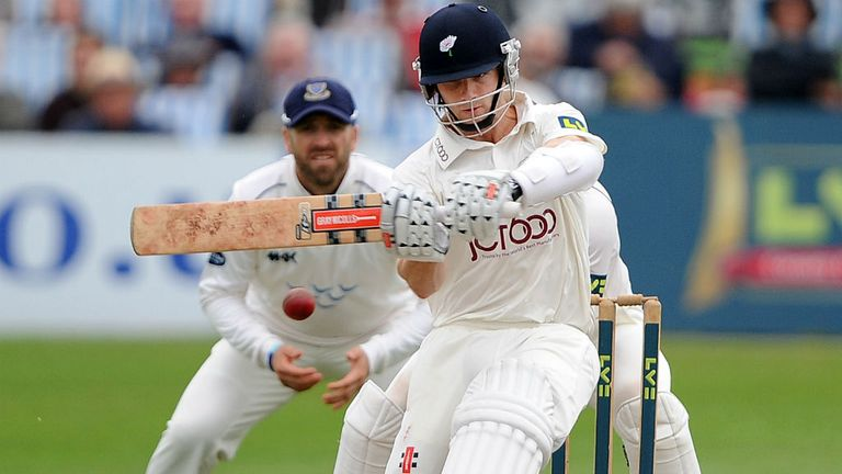 Kane Williamson: Was 80 not out at stumps for Yorkshire