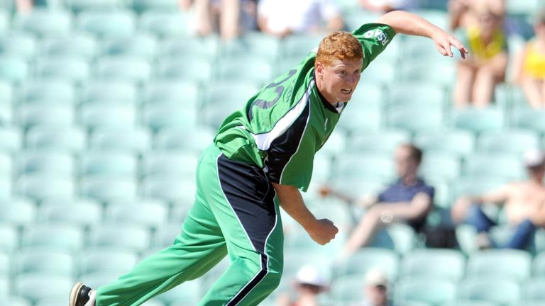 Kevin O'Brien: Took two wickets and a catch on day one against Scotland
