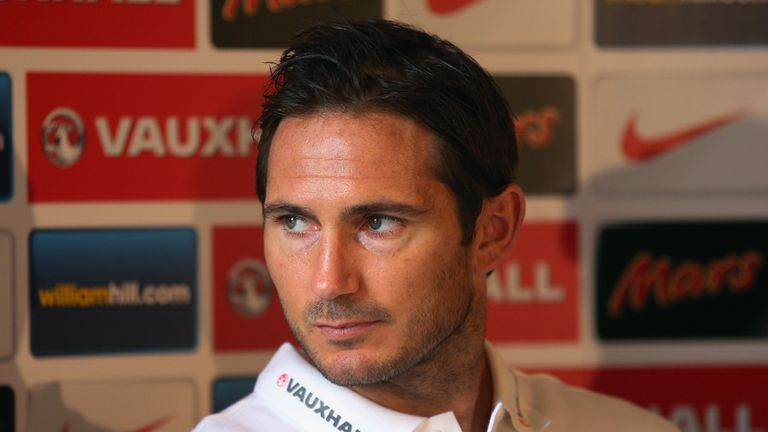 Frank Lampard: Optimistic of England getting a result in Kiev