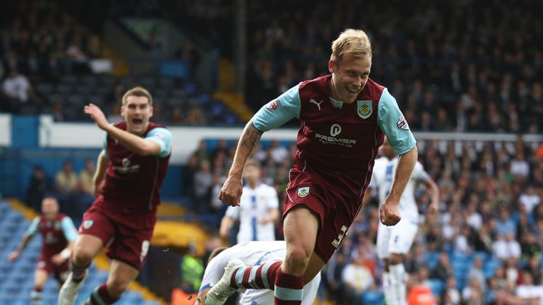 Scott Arfield: Hit the winner for Burnley
