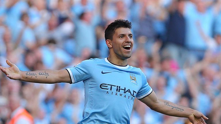 Sergio Aguero: Top points scorer in Sky Sports Fantasy Football