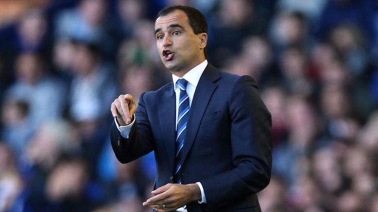 Roberto Martinez: Delighted with Gareth Barry's influence at Goodision Park