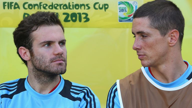 Juan Mata & Fernando Torres: Relishing the chance to tackle Arsenal on Monday