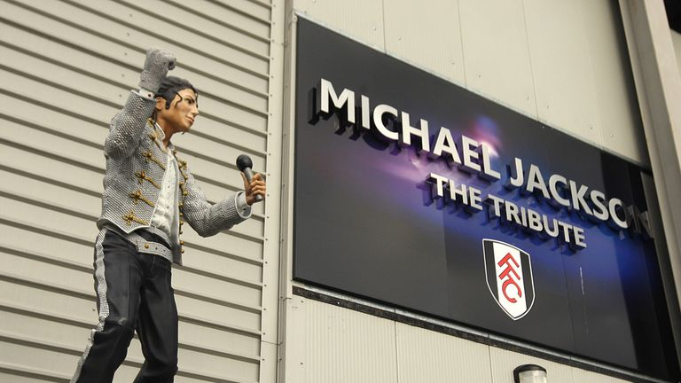 Michael Jackson: Fulham have confirmed statue will be returned to Mohamed Al Fayed