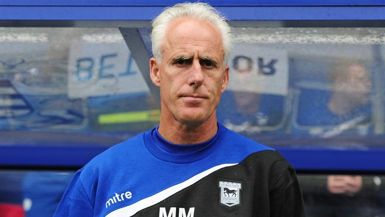 Mick McCarthy: Happy at Ipswich Town