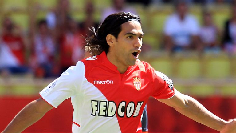 Radamel Falcao: Says he is happy at Monaco