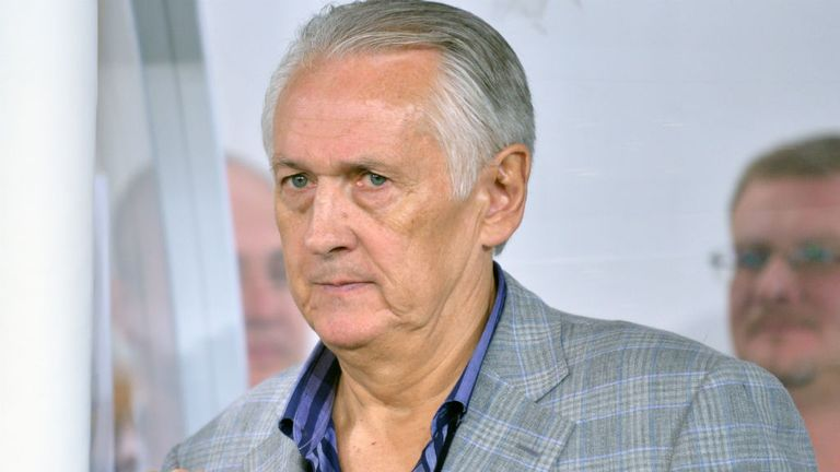 "Mykhaylo Fomenko: Was happy with a draw against ""tough opponents"" England"