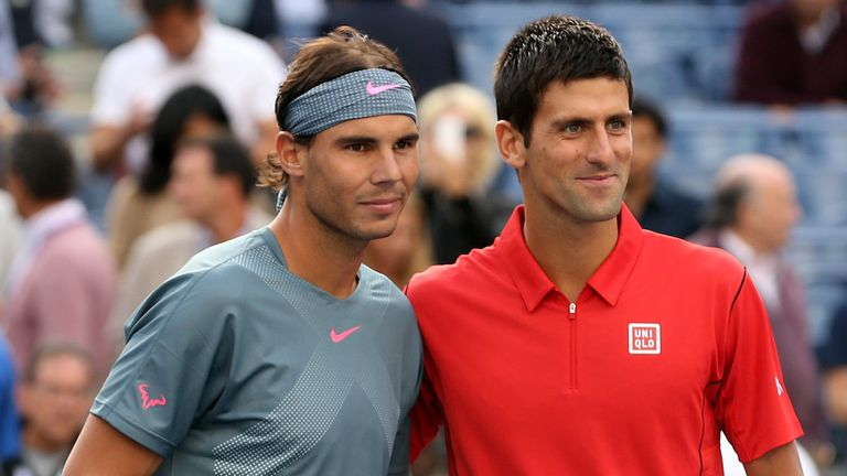 Rafael Nadal and Novak Djokovic will clash in the ATP World Tour final