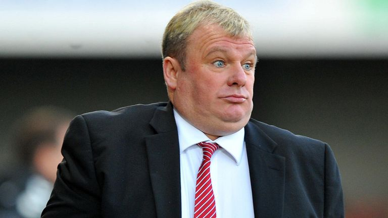 Steve Evans: Feeling frustrated