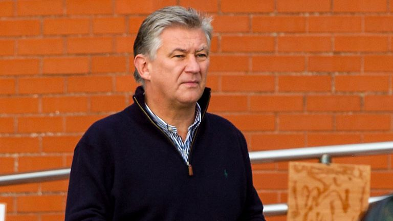Peter Lawwell: Critical of those who unveiled banner