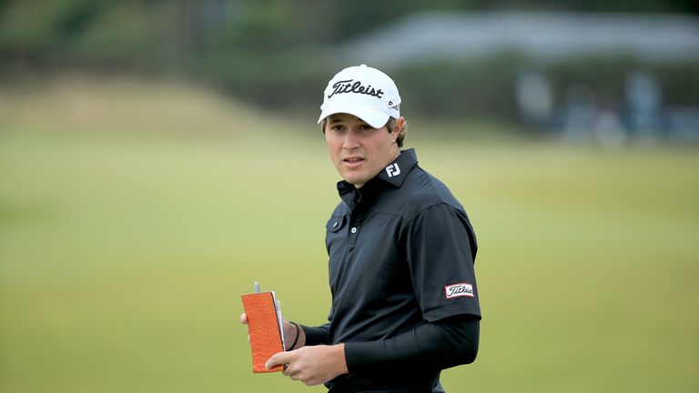 Peter Uihlein: inches away from making history at Kingsbarns