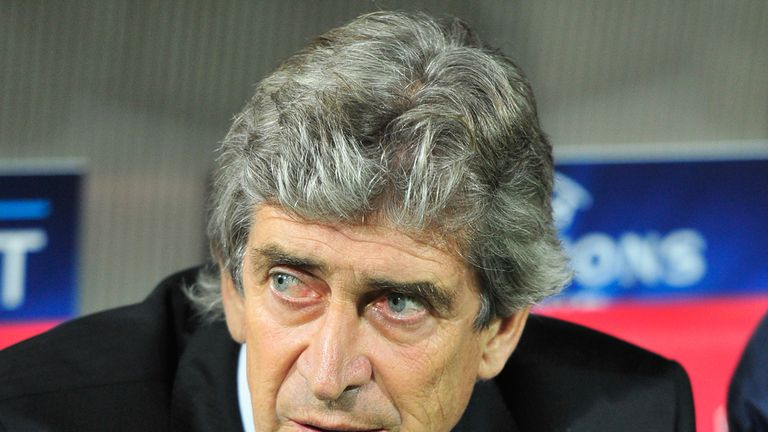 Manuel Pellegrini: Concerns over state of pitch in Moscow