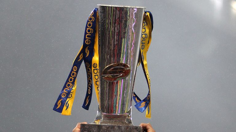 The Super League play-off fixtures have been unveiled