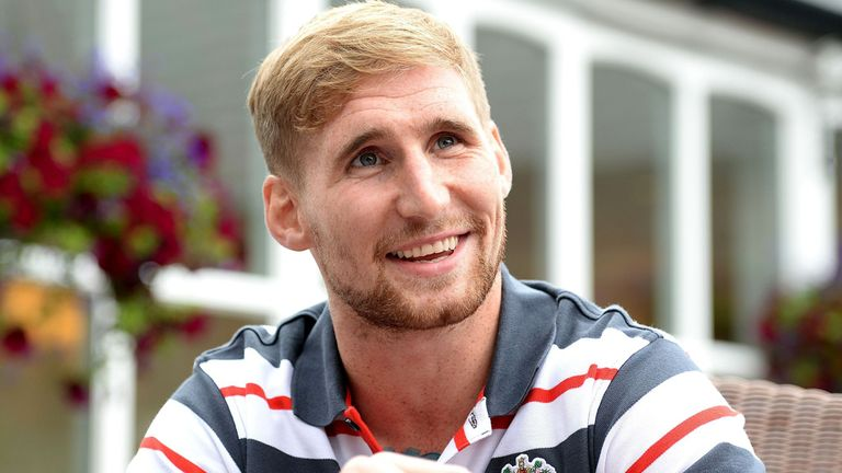 Tomkins: penned a deal with New Zealand Warriors