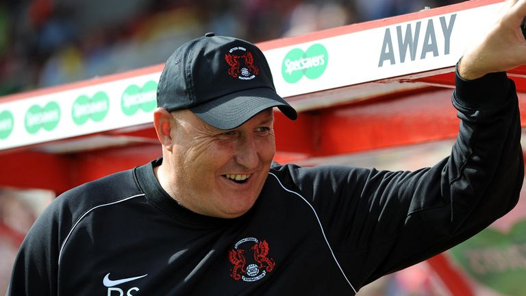 Russell Slade: Delighted with the performance