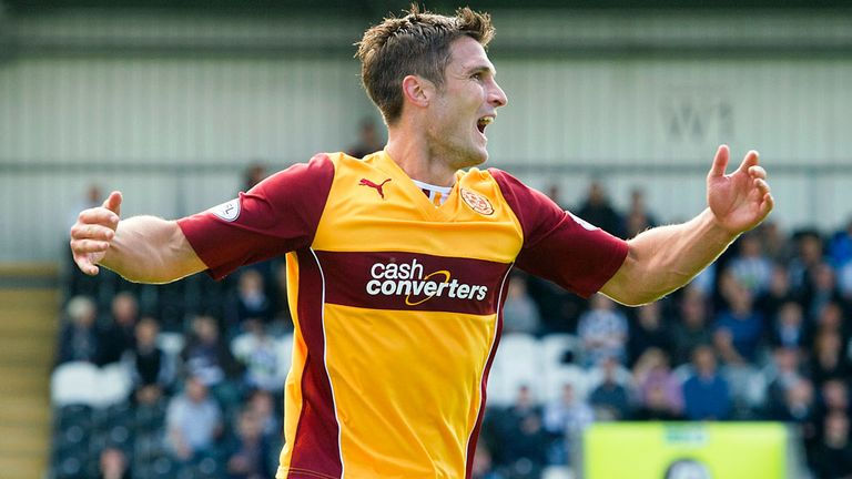 John Sutton: Two-goal hero for Motherwell