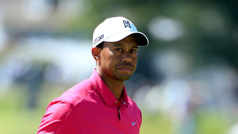 Tiger Woods: Fought back after frustration of two-shot penalty