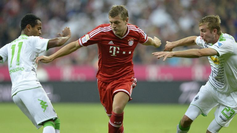 Toni Kroos: Seemed unhappy when hauled off against Stuttgart
