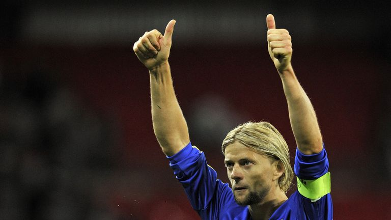 Anatoliy Tymoshchuk: Will captain Ukraine against England
