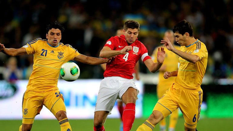 Steven Gerrard: Content with England's draw in Ukraine