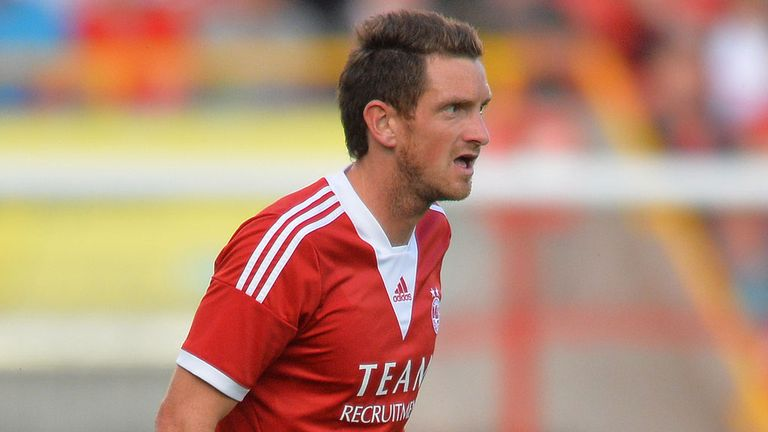 Scott Vernon: Hat-trick hero for Aberdeen