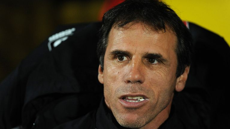 Gianfranco Zola: Pleased with his side