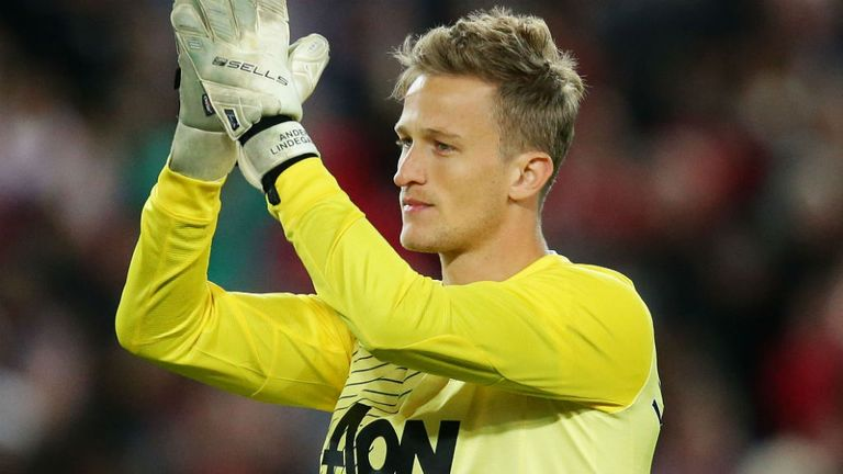 Anders Lindegaard: Number two at Manchester United