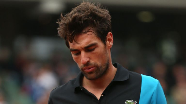 Jeremy Chardy: Beaten by world number 239 Marton Fucsovics