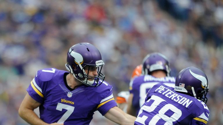 Minnesota might need more from Christian Ponder, but Adrian Peterson is always reliable