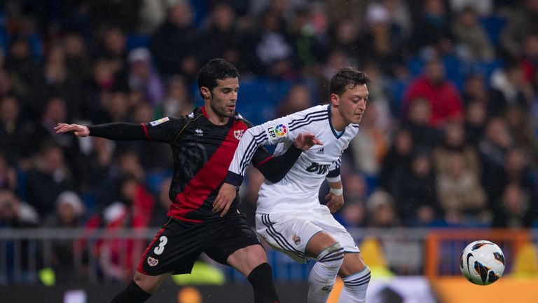 Jose Manuel Casado (L): Has joined Malaga after leaving Rayo Vallecano