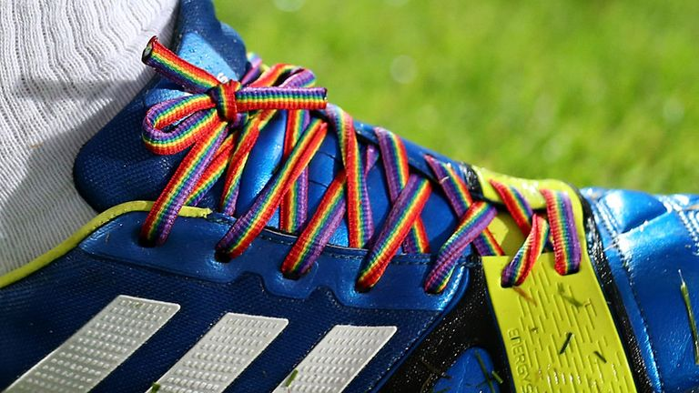 The Premier League and Scottish Professional Football League have backed Stonewall's Rainbow Laces campaign