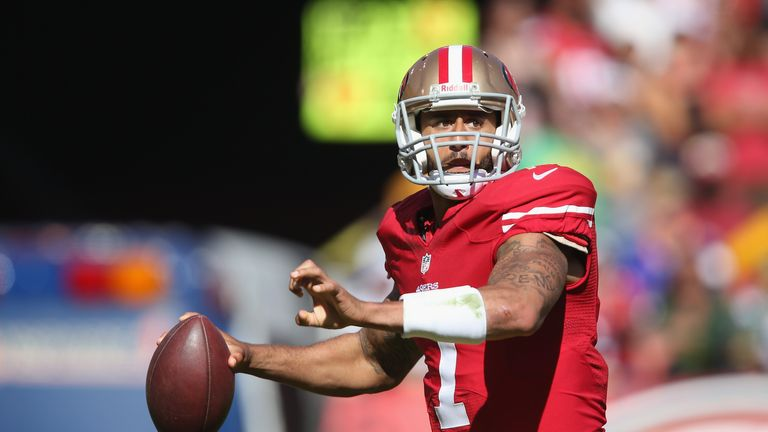 Colin Kaepernick: San Francisco 49ers quarterback led team to NFC title last season