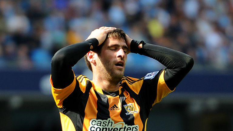 Danny Graham: Struggled to force his way into the first team at Hull