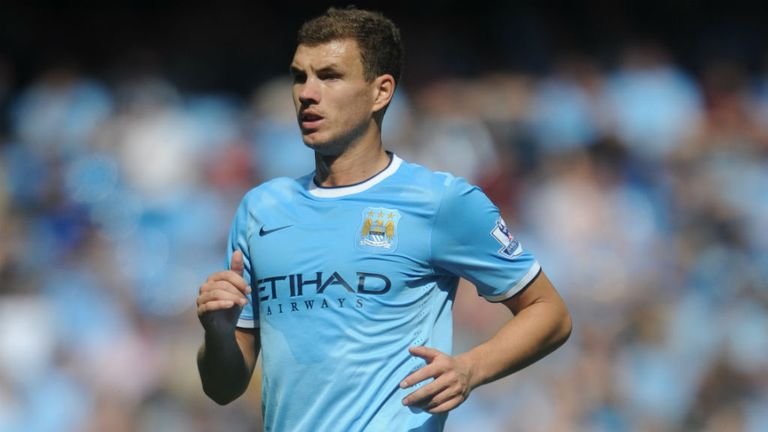 Edin Dzeko: Striker happy with life at Manchester City