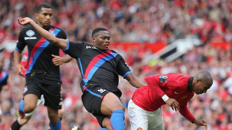 Kagisho Dikgacoi: Tangled with Ashley Young on two occasions at Old Trafford