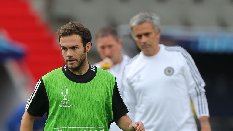 Mata: overlooked by Mourinho on Saturday