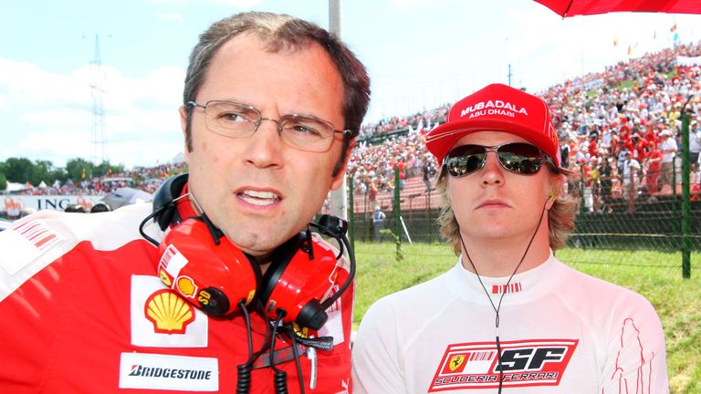 Stefano Domenicali: Says Kimi Raikkonen is happy to be back at Ferrari